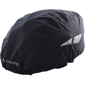 VAUDE Helm Regenhoes, black